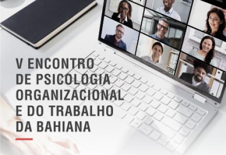 V Encontro de Psicologia Organizacional e do Trabalho