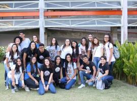 Estudantes do Colégio Vitória-Régia participam de passeio pela Bahiana