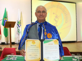 Professor da Bahiana é o primeiro baiano e mestre de capoeira a integrar a Academia Brasileira de Educação Física