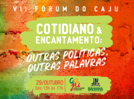 """VII Fórum do CAJU tematiza a pandemia como a """"urgência da hora"""""""