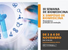 II Semana de Biomedicina / X Simpósio de Biomedicina