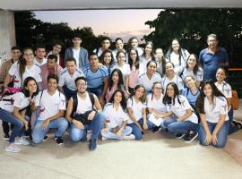 Bahiana por um dia recebe alunos de Feira de Santana