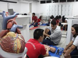 Bahiana realiza Projeto Jovem Socorrista com estudantes do Ensino Médio
