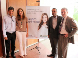 Aula inaugural recebe novos mestrandos e doutorandos da Bahiana