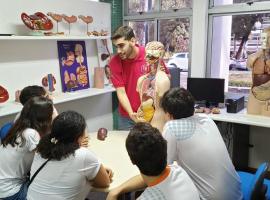 Bahiana por um dia recebe alunos do Colégio São Paulo