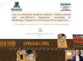Bahiana é premiada por produções científicas em congresso internacional